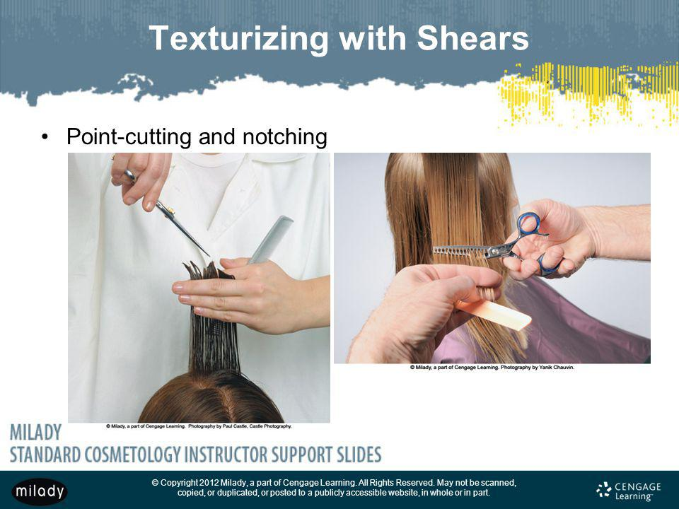 Texturizing with Shears