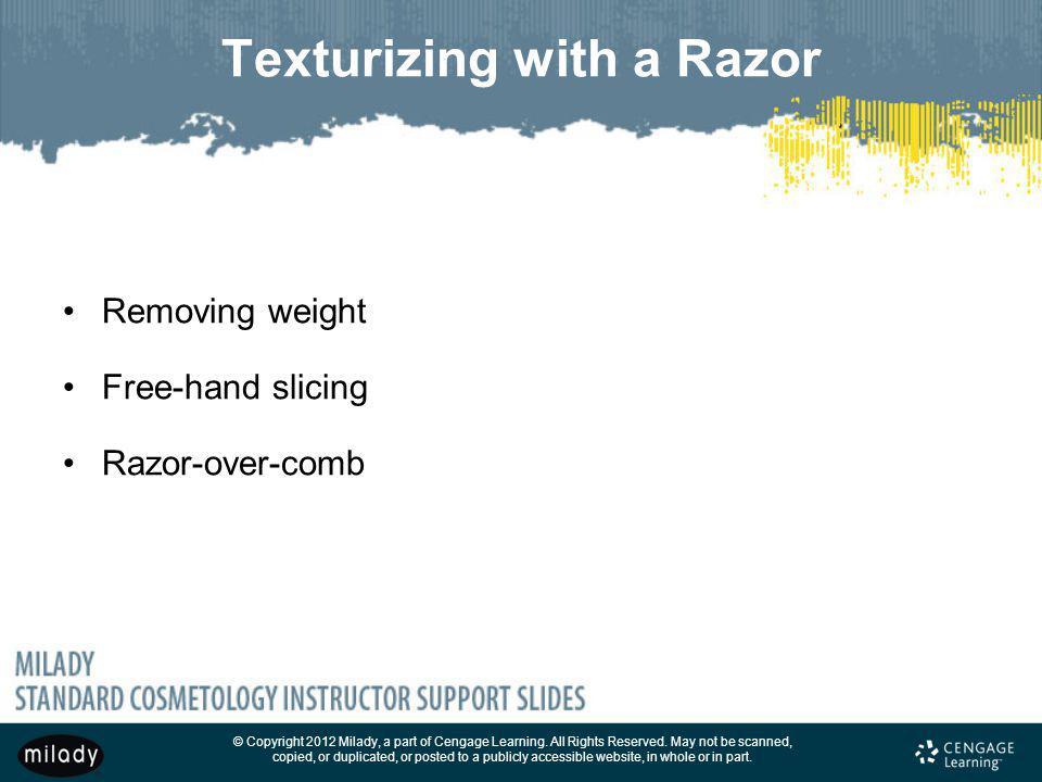 Texturizing with a Razor