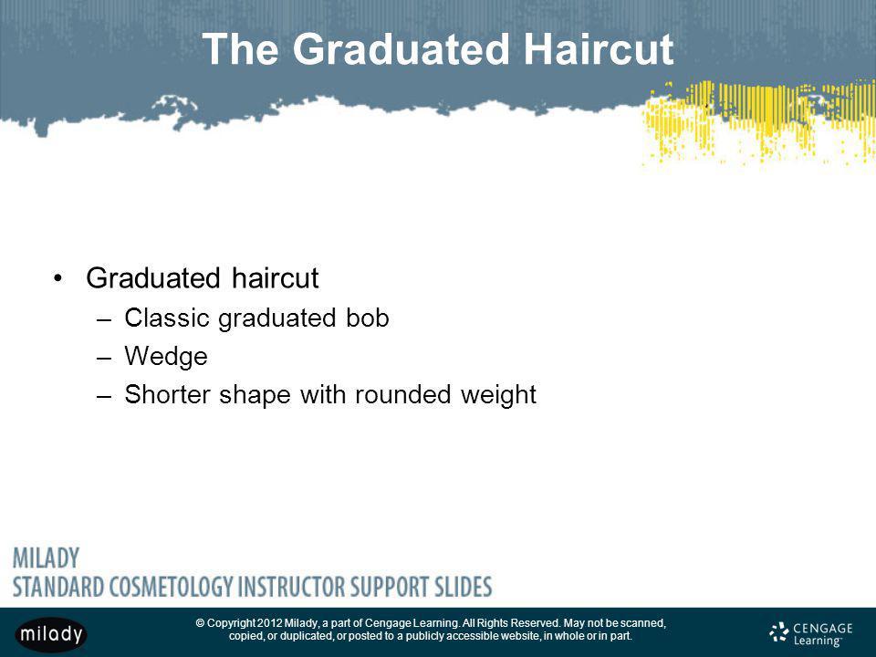The Graduated Haircut Graduated haircut Classic graduated bob Wedge