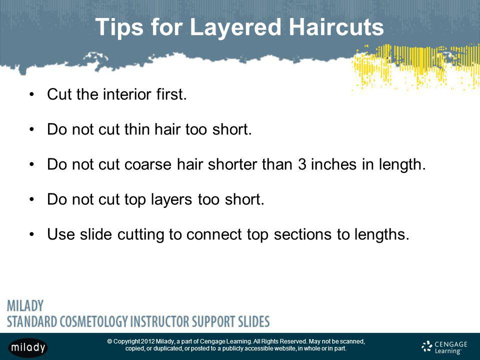 Tips for Layered Haircuts