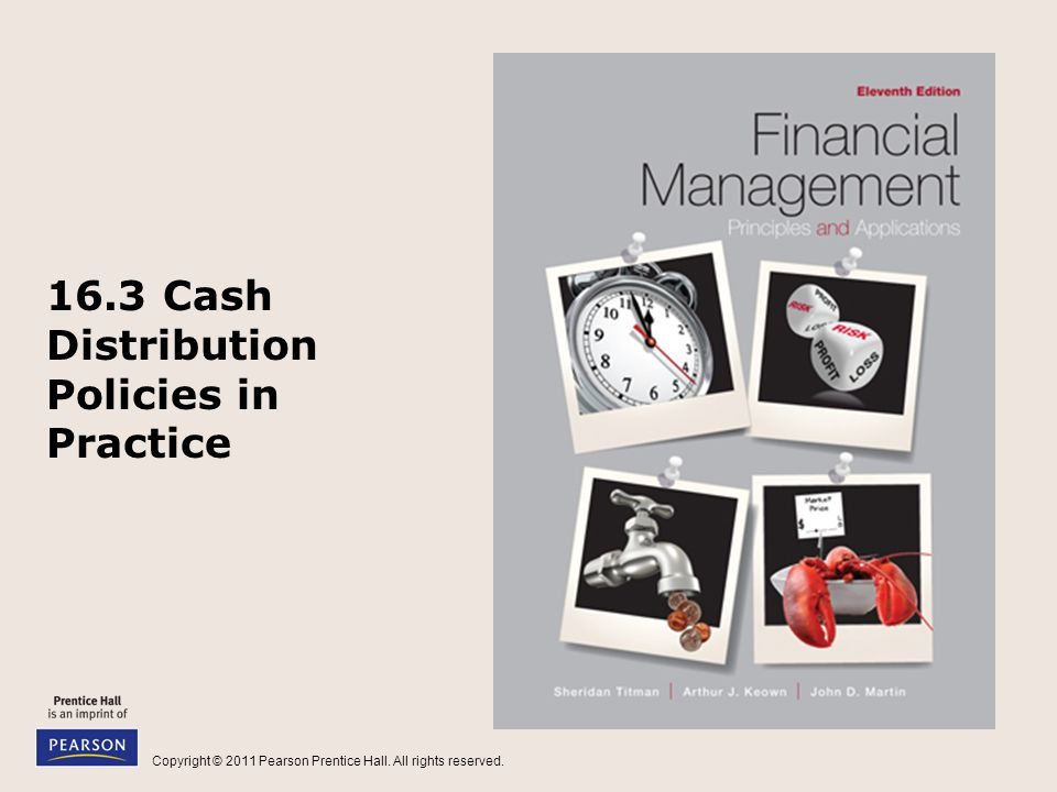 16.3 Cash Distribution Policies in Practice