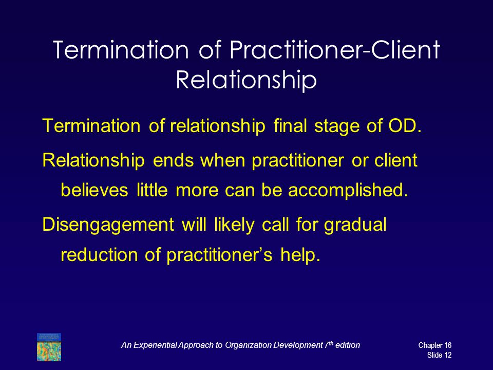 Termination of Practitioner-Client Relationship