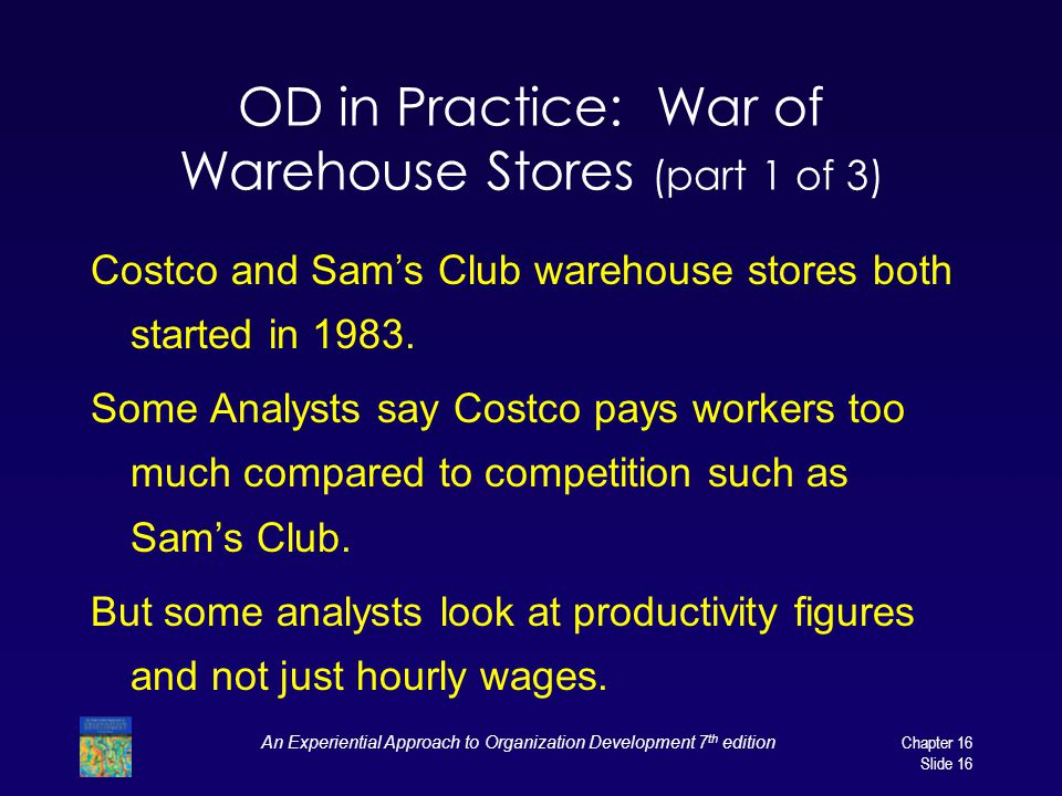 OD in Practice: War of Warehouse Stores (part 1 of 3)