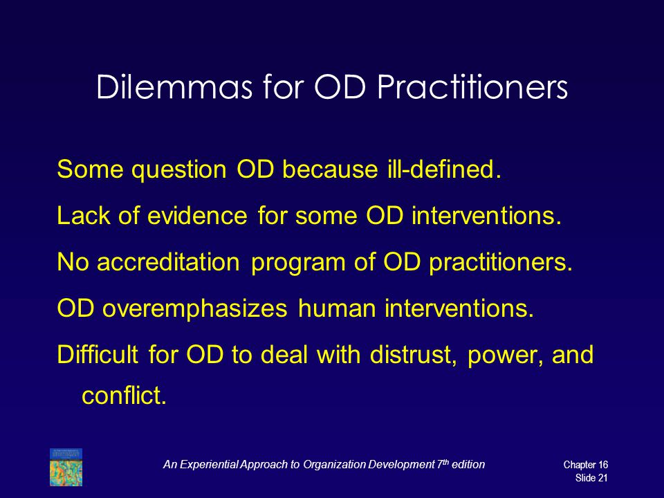 Dilemmas for OD Practitioners
