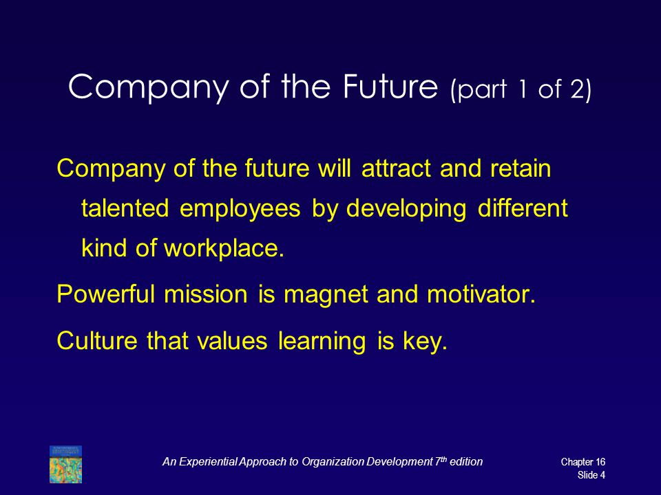 Company of the Future (part 1 of 2)
