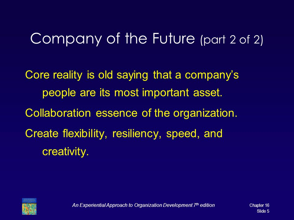 Company of the Future (part 2 of 2)