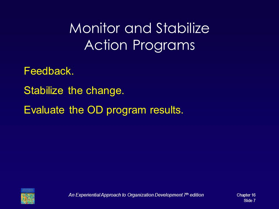 Monitor and Stabilize Action Programs