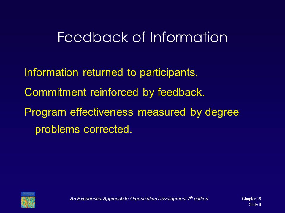Feedback of Information