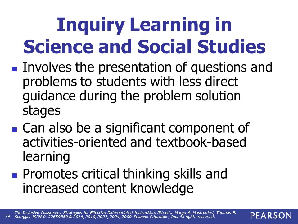 Adapting Inquiry Learning Activities
