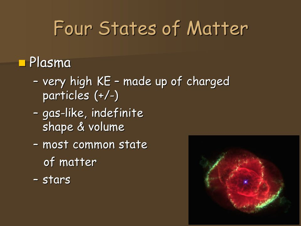 Four States of Matter Plasma