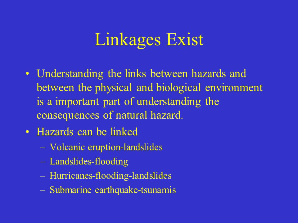 Linkages Exist