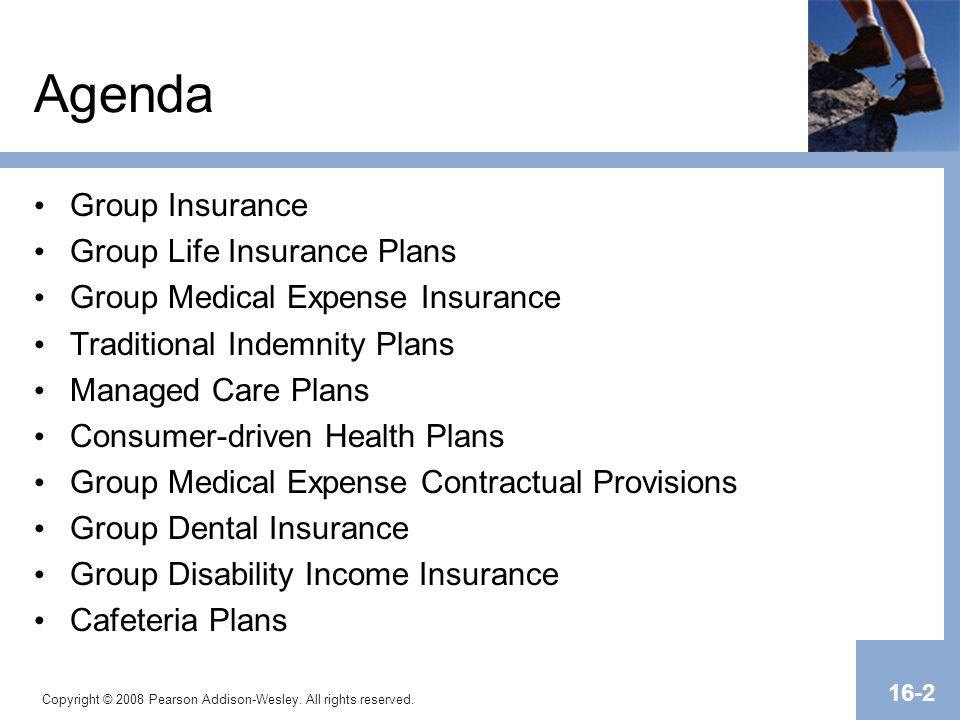 Agenda Group Insurance Group Life Insurance Plans
