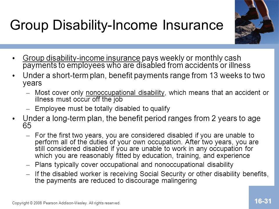 Group Disability-Income Insurance