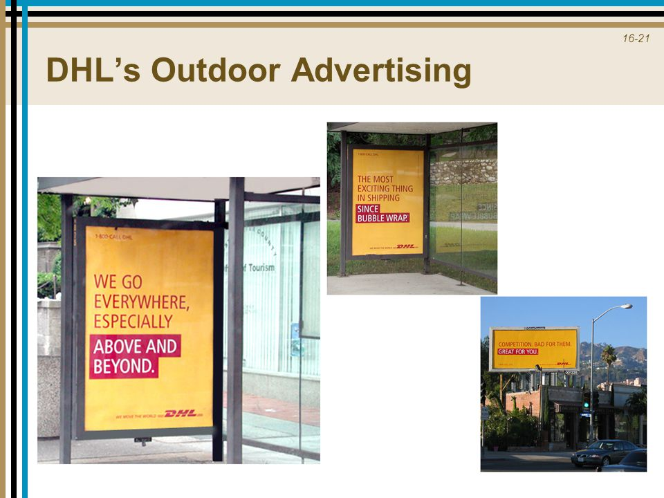 DHL's Outdoor Advertising