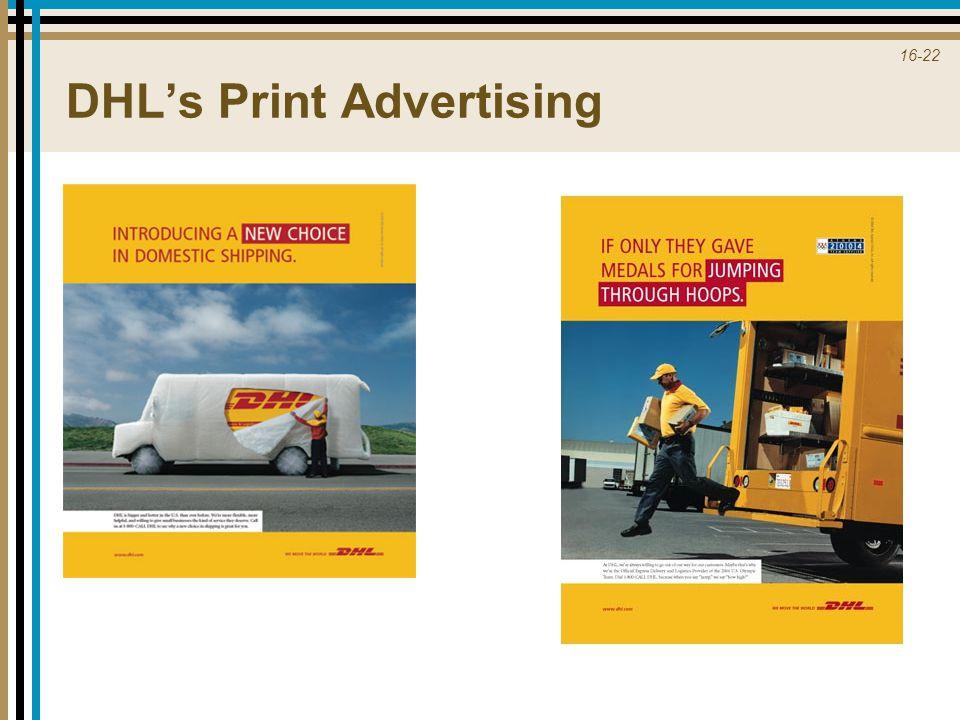 DHL's Print Advertising