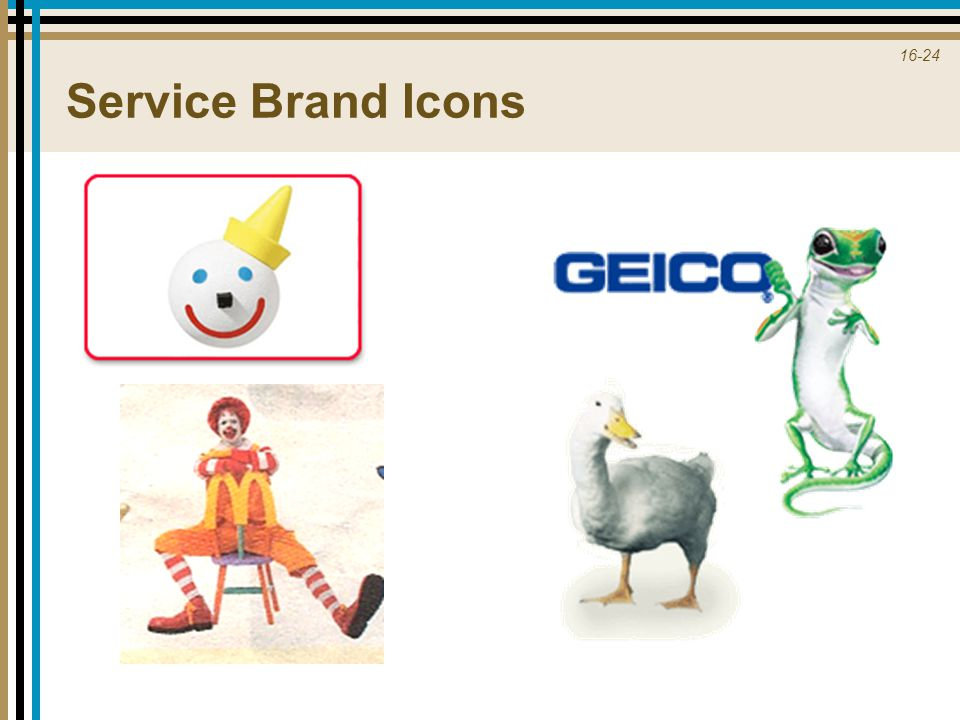 Service Brand Icons