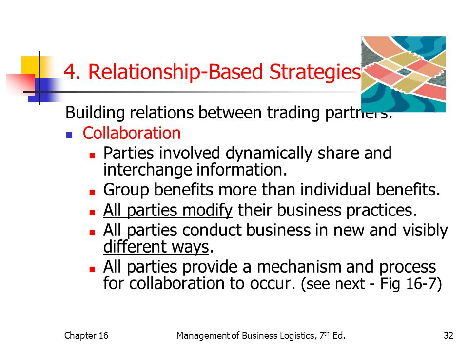 4. Relationship-Based Strategies