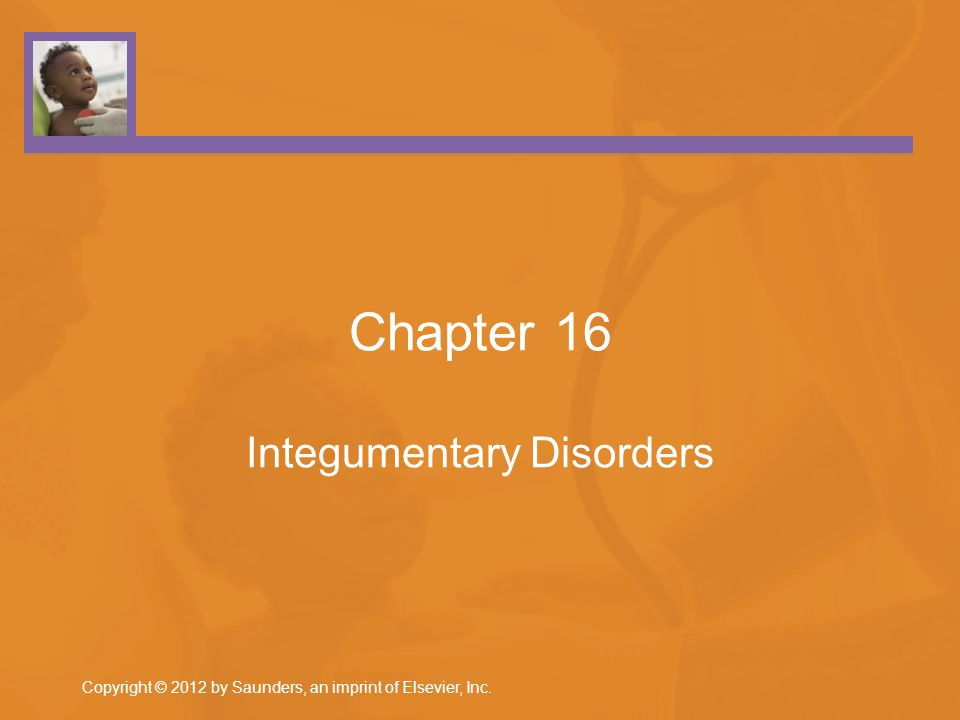 Chapter 16 Integumentary Disorders