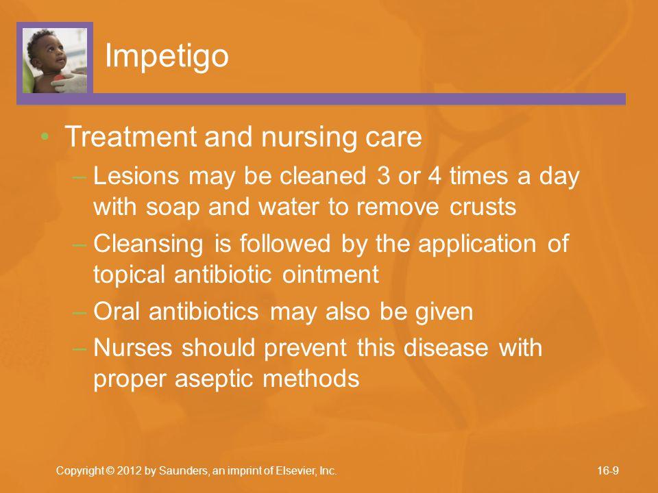 Impetigo Treatment and nursing care