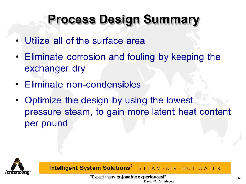 Process Design Summary