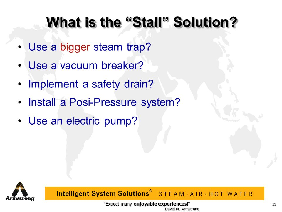 What is the Stall Solution
