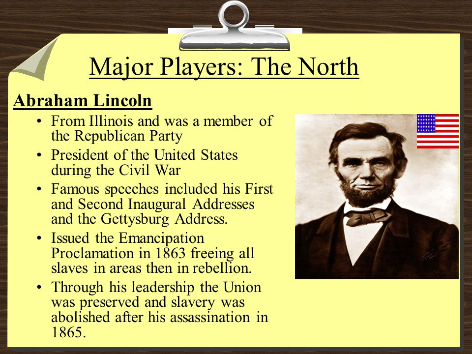Major Players: The North