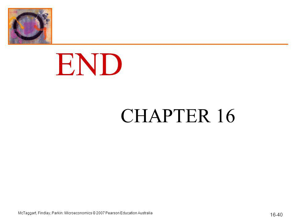 END CHAPTER 16