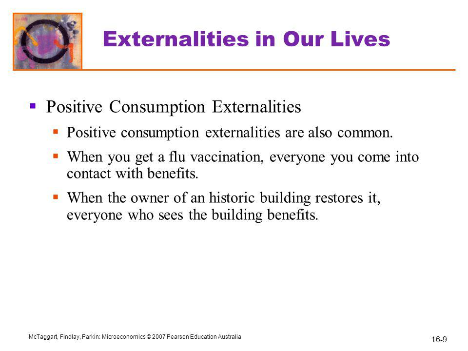 Externalities in Our Lives
