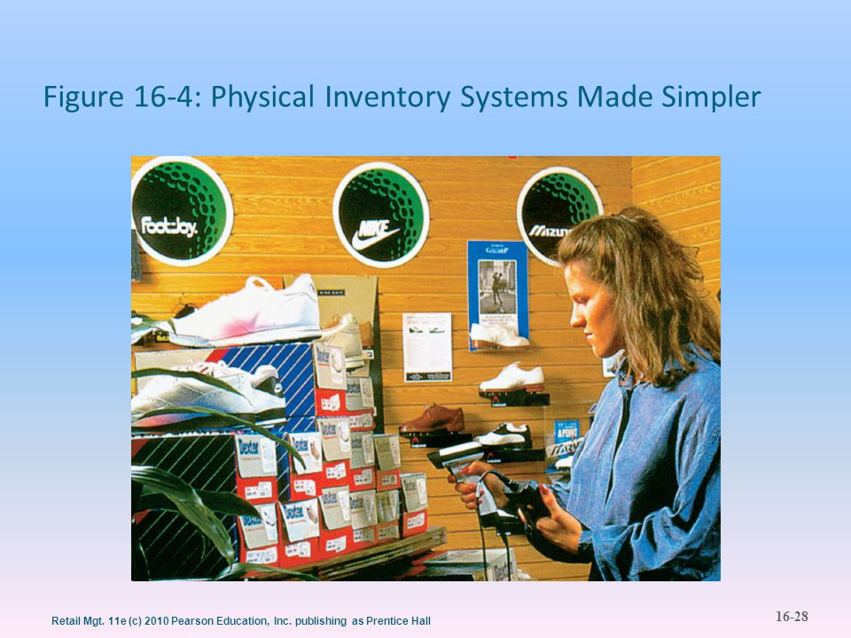Figure 16-4: Physical Inventory Systems Made Simpler