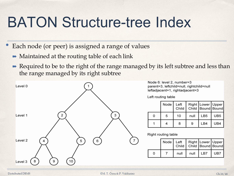 BATON Structure-tree Index