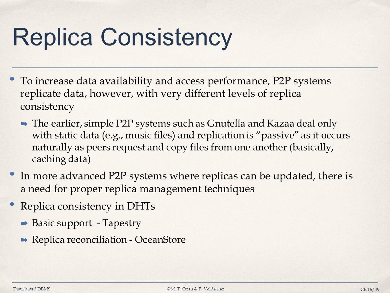Replica Consistency