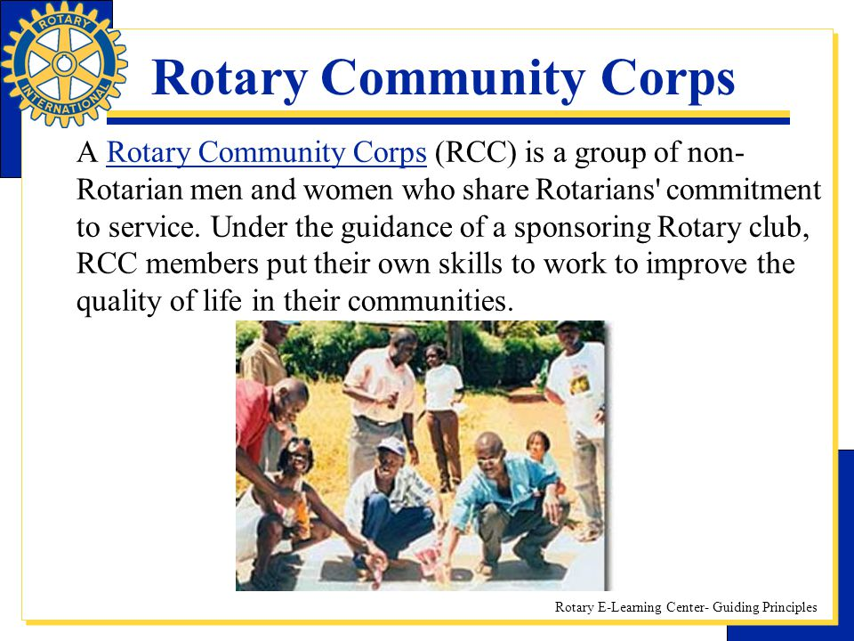 Rotary Community Corps