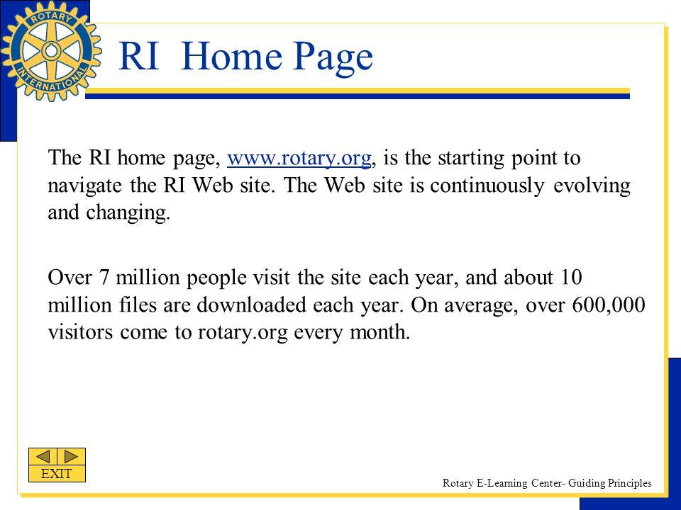 RI Home Page