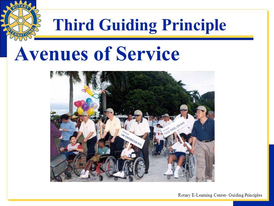 Third Guiding Principle