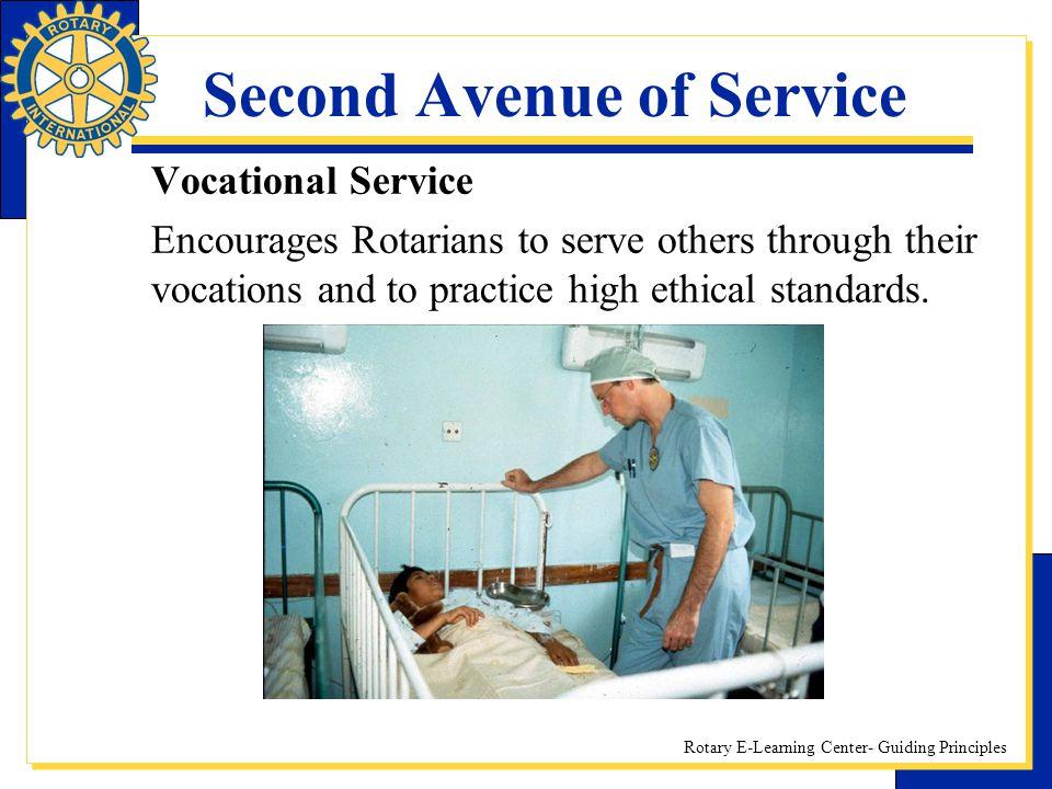 Second Avenue of Service
