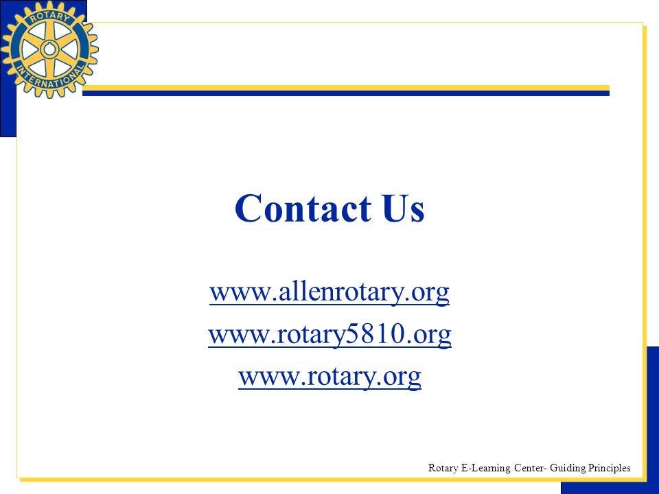 www.allenrotary.org www.rotary5810.org www.rotary.org