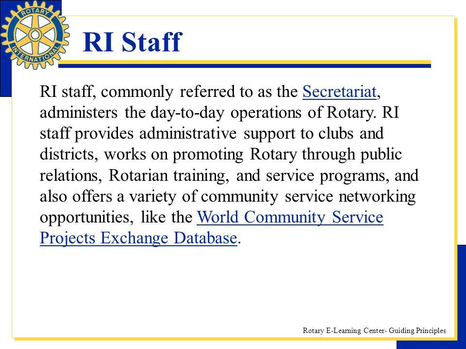 RI Staff