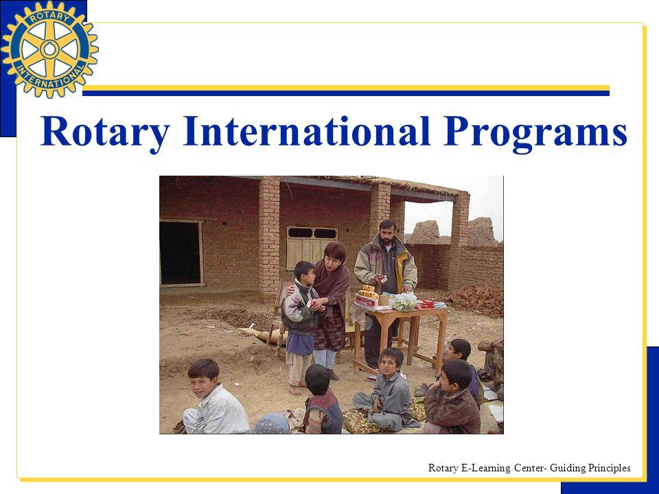 Rotary International Programs