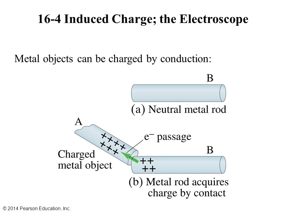 16-4 Induced Charge; the Electroscope