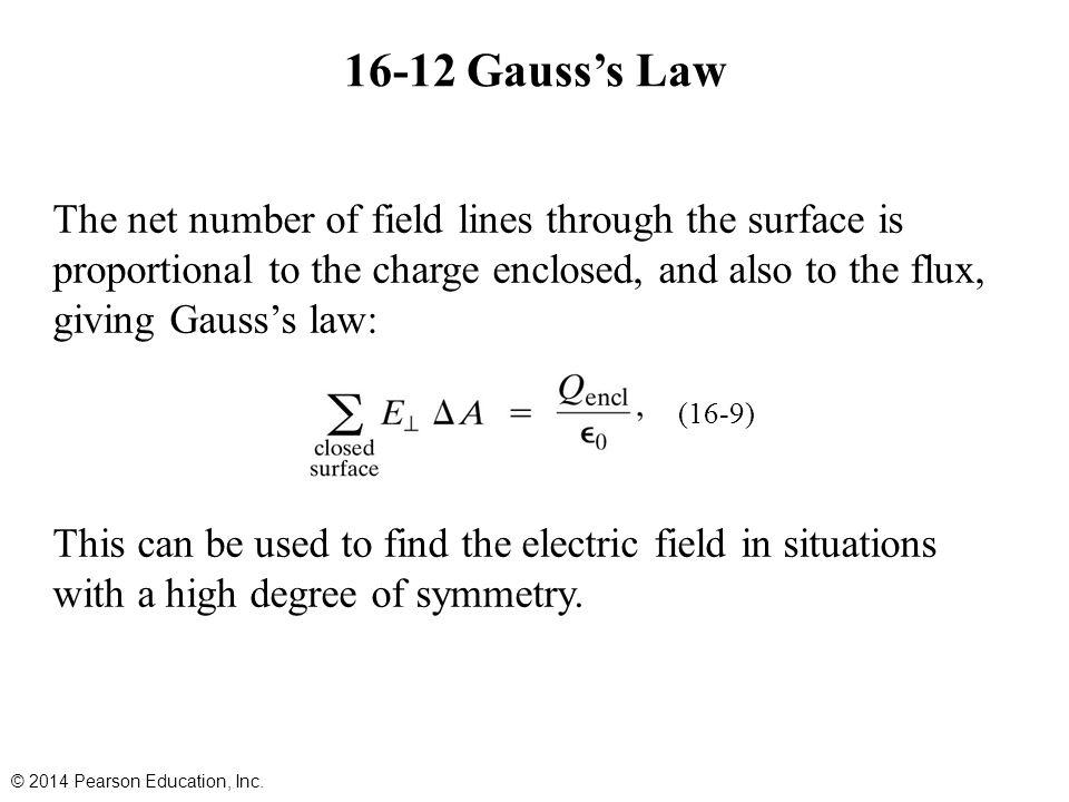 16-12 Gauss's Law