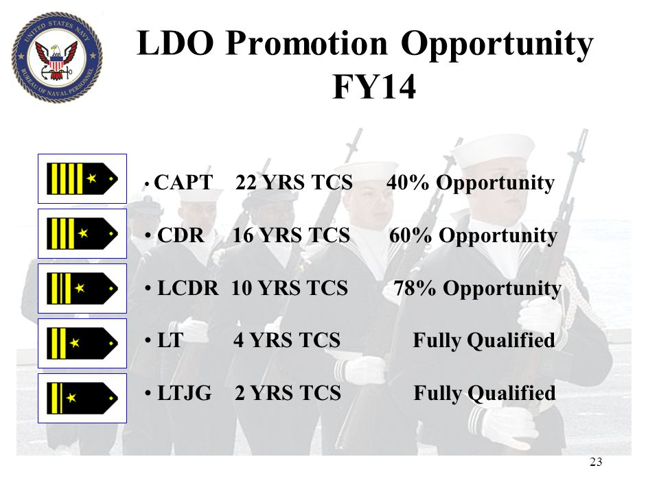 LDO Promotion Opportunity FY14