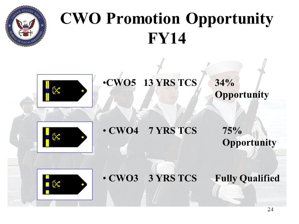 CWO Promotion Opportunity FY14