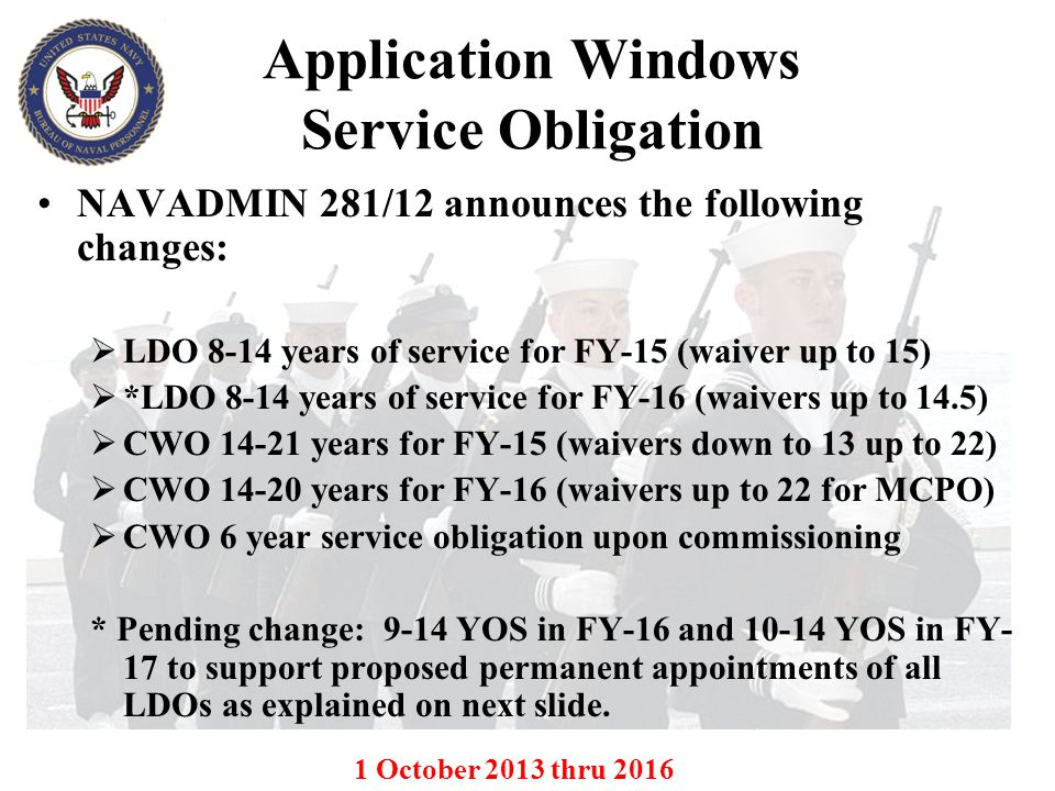 Application Windows Service Obligation