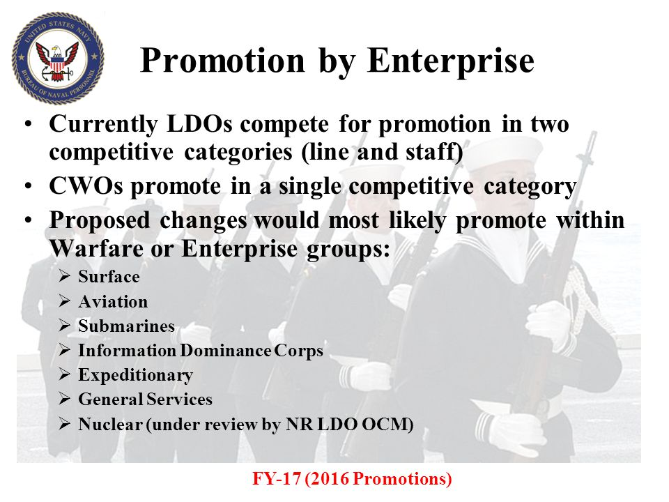 Promotion by Enterprise