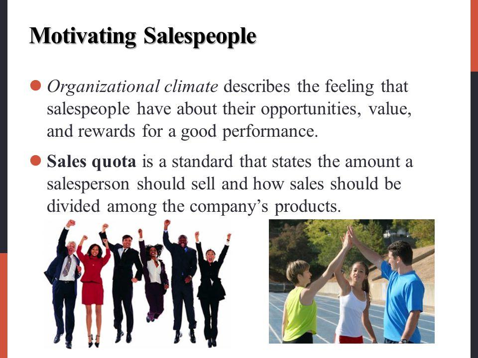 Motivating Salespeople