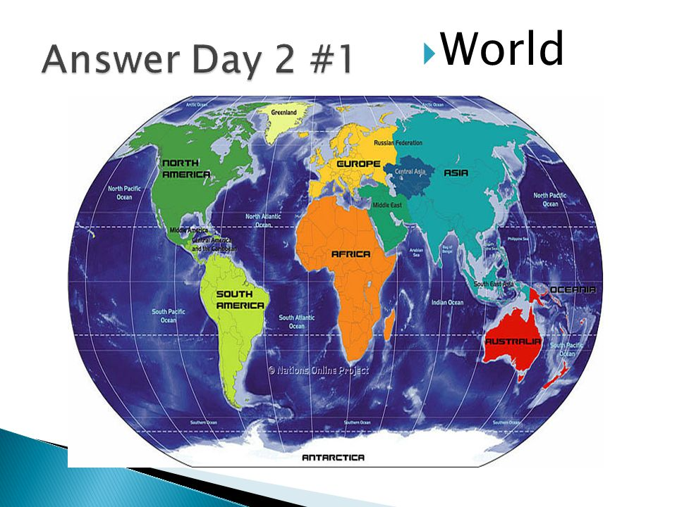 Answer Day 2 #1 World