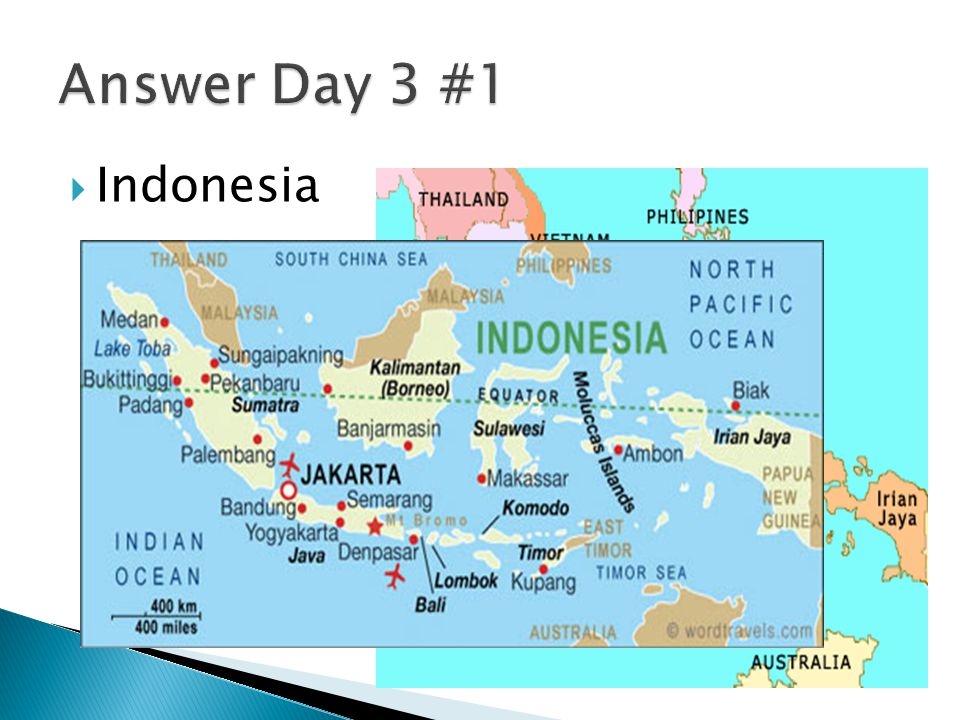 Answer Day 3 #1 Indonesia