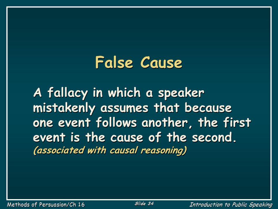False Cause
