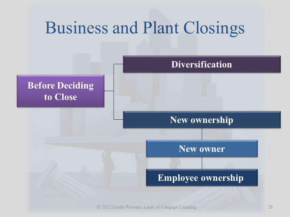 Business and Plant Closings