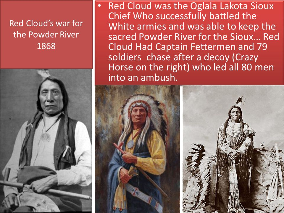Red Cloud's war for the Powder River 1868